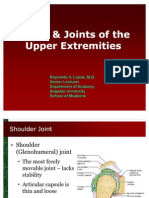 Bones and Joints of Upper Extremities