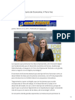 21-02-2019 - Inaugura secretario de Economía V Foro Voz Empresarial - Canalsonora.com
