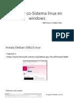 DebianLinux en Windows