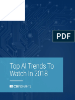 CB Insights State of Artificial Intelligence 2018