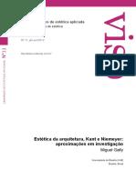 GALLY, M. Estética da arquitetura, Kant e Niemeyer - aproximações em investigação.pdf