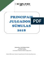 Principais Julgados e Su_mulas 2018