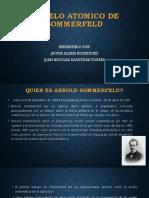 Modelo Atomico de Sommerfeld