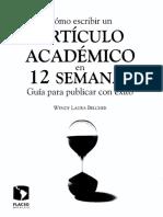 BELCHER Wendy Laura - Como Escribir Un Articulo Academico en 12 Semanas (1).pdf