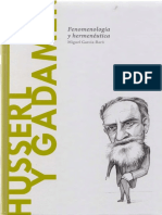 Husserl y Gadamer