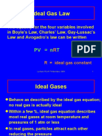 Ideal Gas Law and Gases in Equations