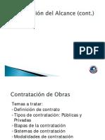 3. Contratos de Construcción.