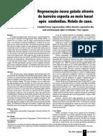 06 ROG Através de Barreira Exposta Ao Meio Bucal Após Exodontias. Relato de Caso IBI 2010