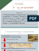 Tema 3 -La Propiedad- -Parte 1