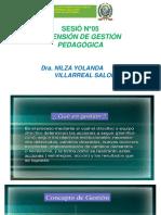 SESIÓN N°05 DIMENSIÓN DE GEST.