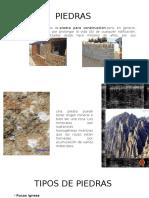 Tipos de roca para la construcción civil