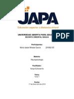 Tarea 1 - Neuropsicologia - Maria Isabel Mirabal Garcia