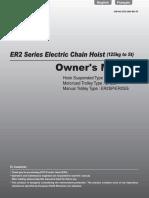 ER2 Owner's Manual English