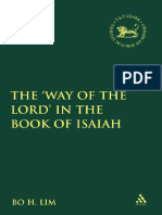 (Library of Hebrew Bible_Old Testament Studies 522) Bo H. Lim - Way of the Lord in the Book of Isaiah-Continuum Intl Pub Group (2010)