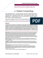 Less is More Modern Neonatology