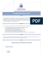 CURSO Planeacion Fiscal Curso Imef 2018