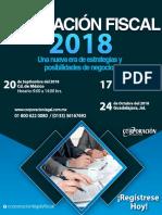 CURSO Planeación Fiscal 2018