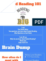 guided reading 101