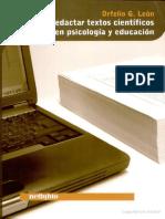 León O.-Cómo-redactar-textos-científicos en Psicología y Educación.pdf