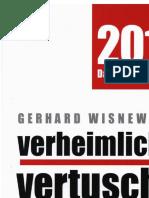 Gerhard Wisnewski - Verheimlicht - Vertuscht - Vergessen 2019