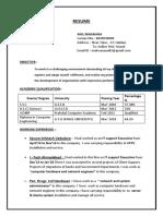 Anil Resume (1)