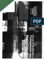 Caballo - Manual de Avaliação e Treinamento Das Habilidades Sociais