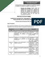 Proyecto compilado para un control previos de las fusiones y adquisiciones empresariales