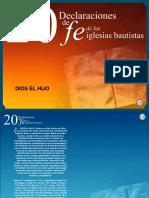 20 Declaraciones de Fe. Dios El Hijo
