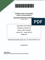 Tenderloin Housing Clinic v Orvelton Neal 2015 Seneca UD Drugs