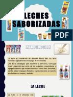 LECHES SABORIZADAS