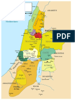 12 Tribes of Israel Map-pt