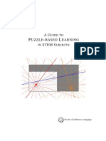 Guide to Puzzle Based Learning in Stem
