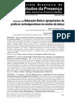 Correa e Santos - Dança na Educação Básica