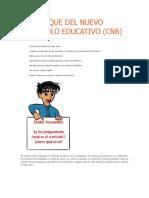 El Enfoque Del Nuevo Currículo Educativo