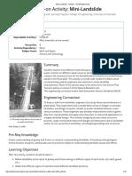 Mini-Landslide - Activity - TeachEngineering