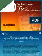 20 Declaraciones de Fe.el Hombre