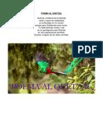 Poema Al Quetzal