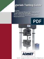 ADMET Materials Testing Guide July 2013