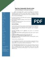 Community Foundations