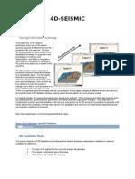4D Seismic Basics