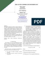 Proyecto ditribucion tarifas