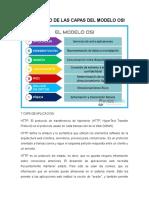 Protocolo de Las Capas Del Modelo Osi