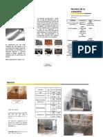 1.6 folleto costos madera y laminas de metal