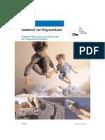 Additives Polyurethane