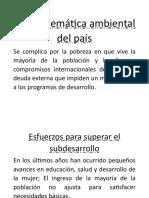 Honduras y El Desarrollo Sostenible