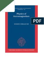 Physics of Ferromagnetism Sushin Chikazumi C-12