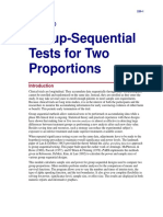 Group-Sequential Tests for Two Proportions
