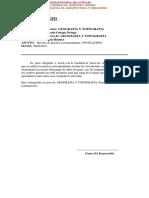 Informe Nº 002 Topofrafia