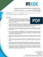 CONSENTIMIENTO INFORMADO DE EVALUACIÓN PSICOPEDAGOGiCA O NEUROPSICOLOGICA