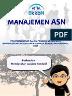 Manajemen ASN_Latsar CPNS BKKBN